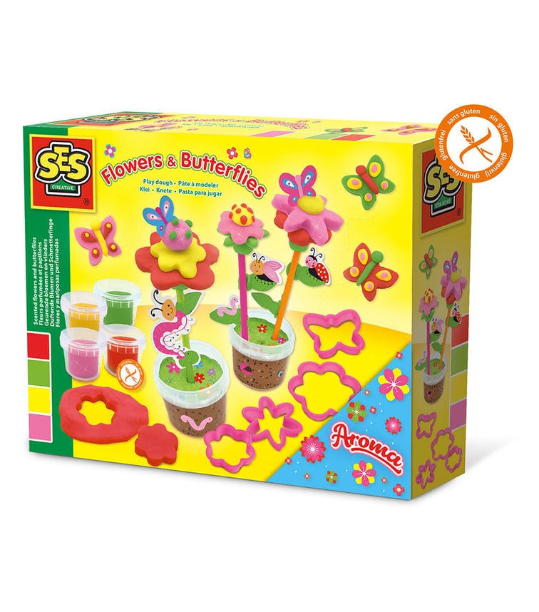 SES CREATIVE Play Dough Arts And Crafts Set Scented