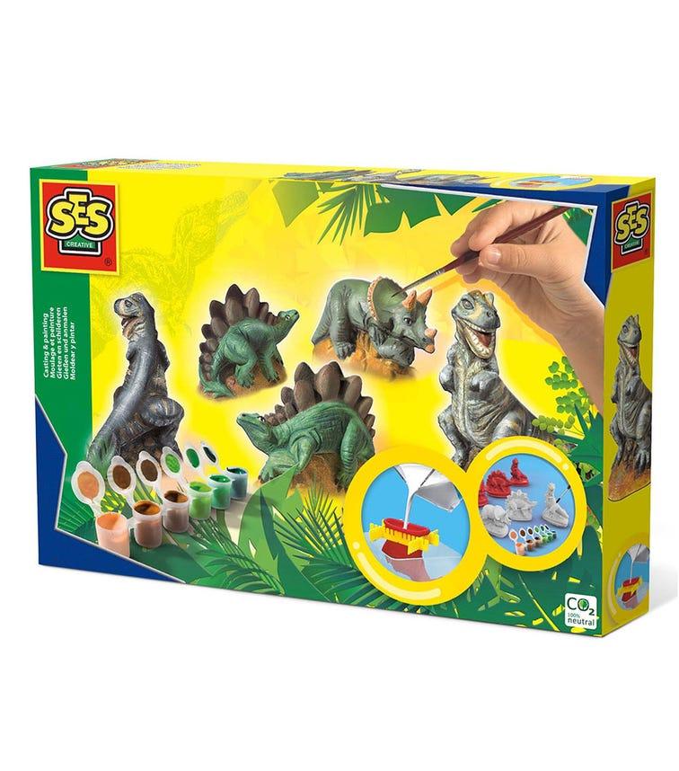 SES CREATIVE 3D Design Dinosaures Thyme