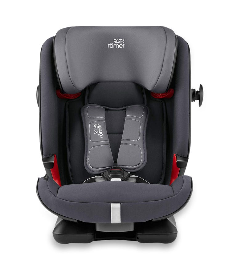 BRITAX Romer Advansafix IV R From 9 Months - 12 Years With ISOFIX Storm Grey