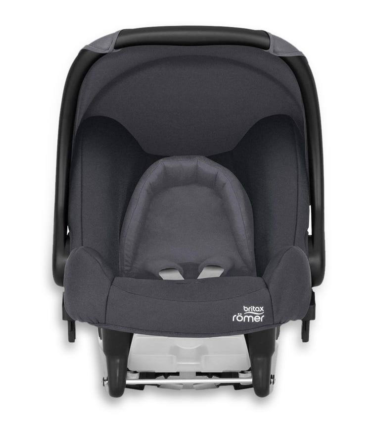 BRITAX Romer Baby Safe Car Seat From 0-13 Months Storm Grey