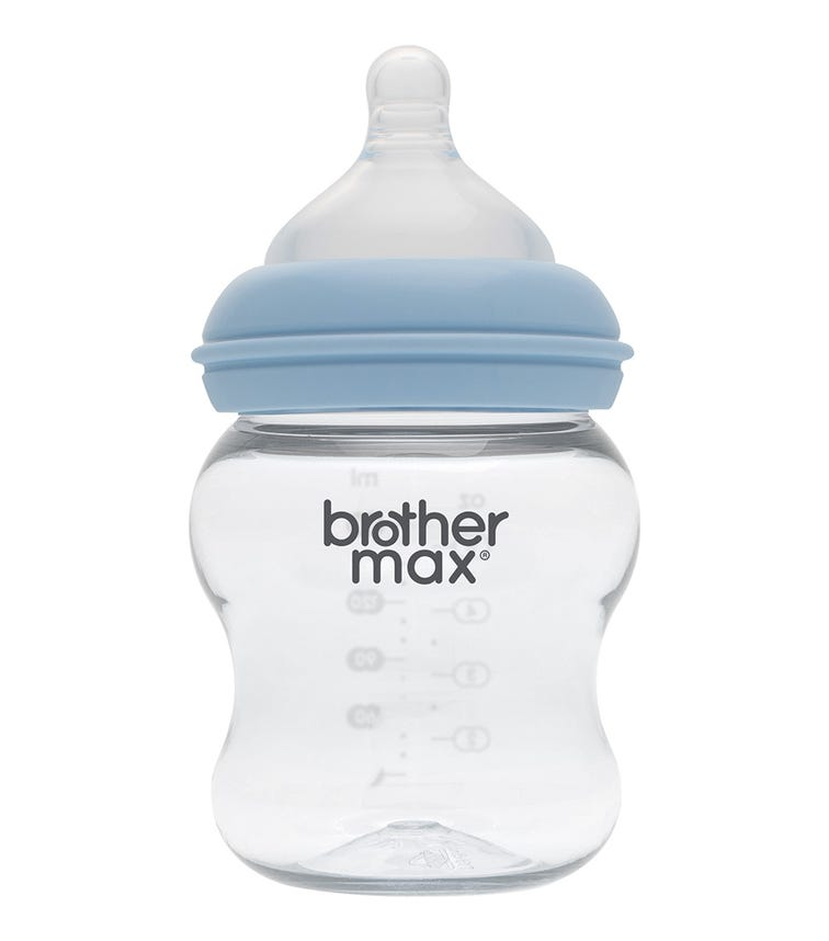 BROTHER MAX PP Extra Wide Neck Feeding Bottle 160ML/5Oz (Small) Teat