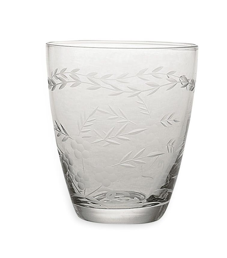 GREENGATE Water W/Cutting - Clear
