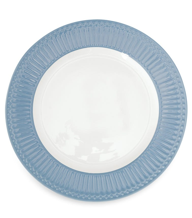 GREENGATE Dinner Plate Alice - Sky Blue