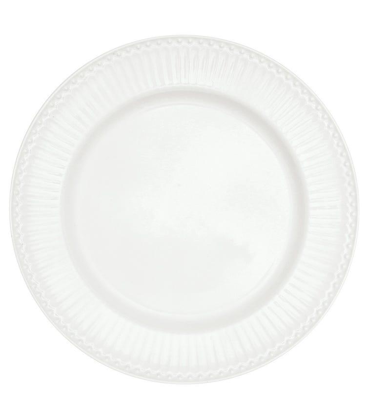 GREENGATE Dinner Plate Alice - White