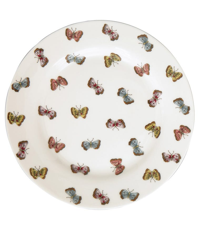 GREENGATE Plate Maisie - White