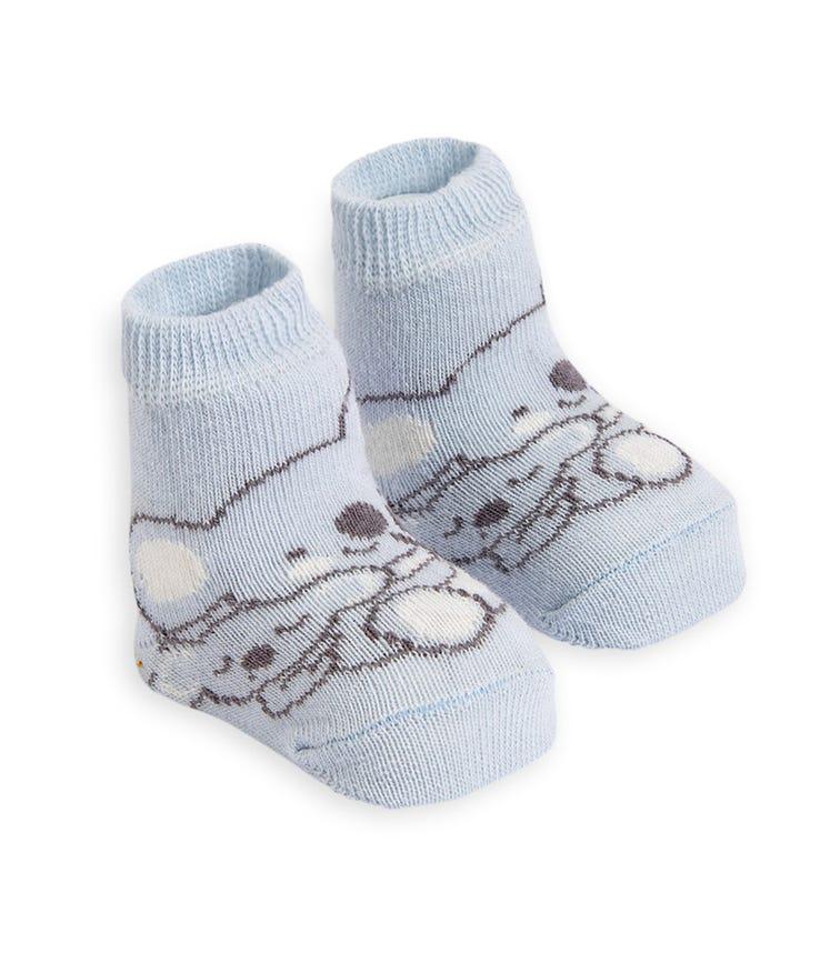 OLAY SOCKS Baby Socks - Koala Mum and Baby