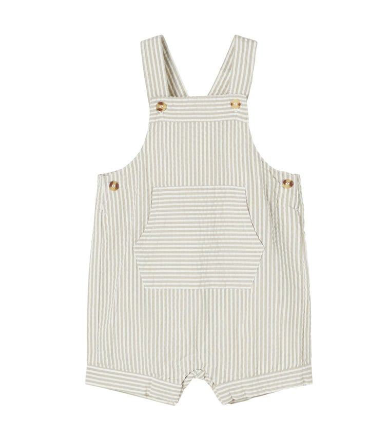 NAME IT Organic Cotton Striped Overall