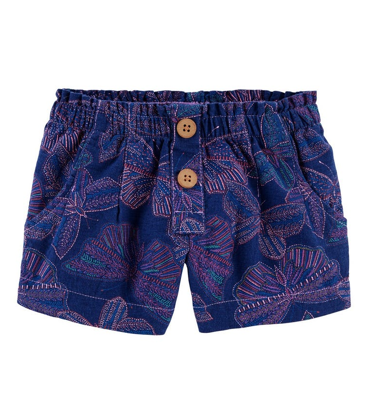 OSHKOSH Butterfly Linen Shorts