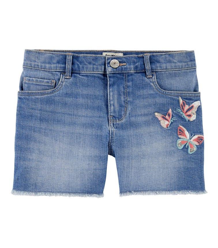 OSHKOSH Butterfly Stretch Denim Shorts