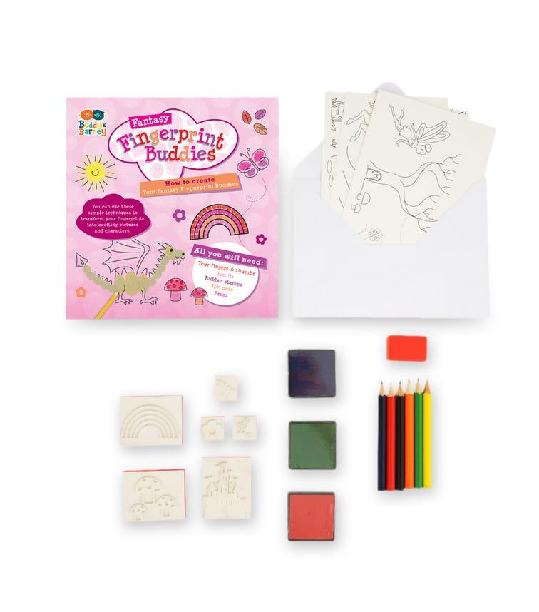 BUDDY & BARNEY Fingerprint Buddies Single Drawer Unicorn