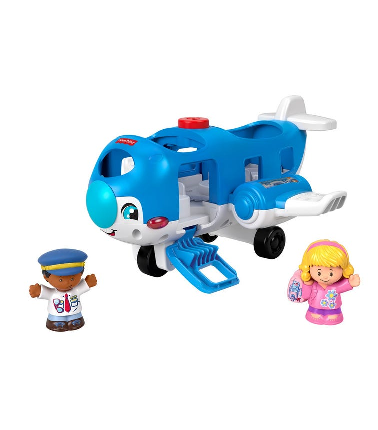FISHER PRICE Little People City Travel Together Airplane