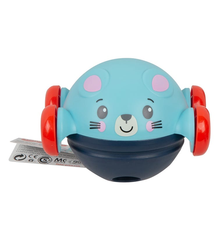 FISHER PRICE Infant Character Vehicle - Blue Mouse