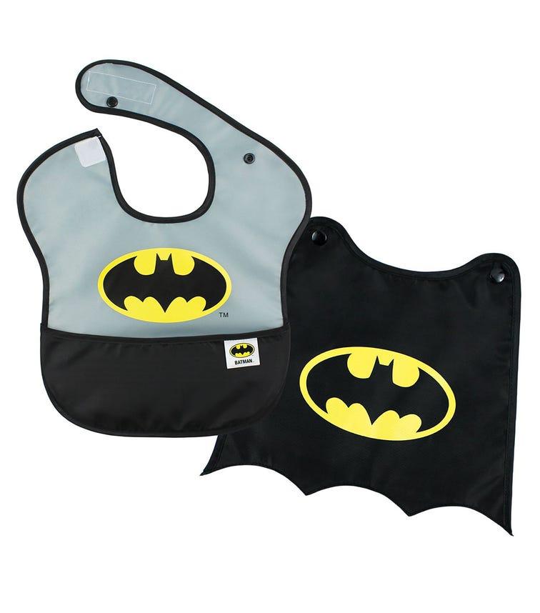 BUMKINS Superbib With Cape Batman