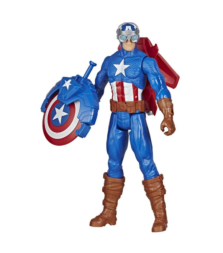 AVENGERS Titan Hero Blast Gear - Captain America