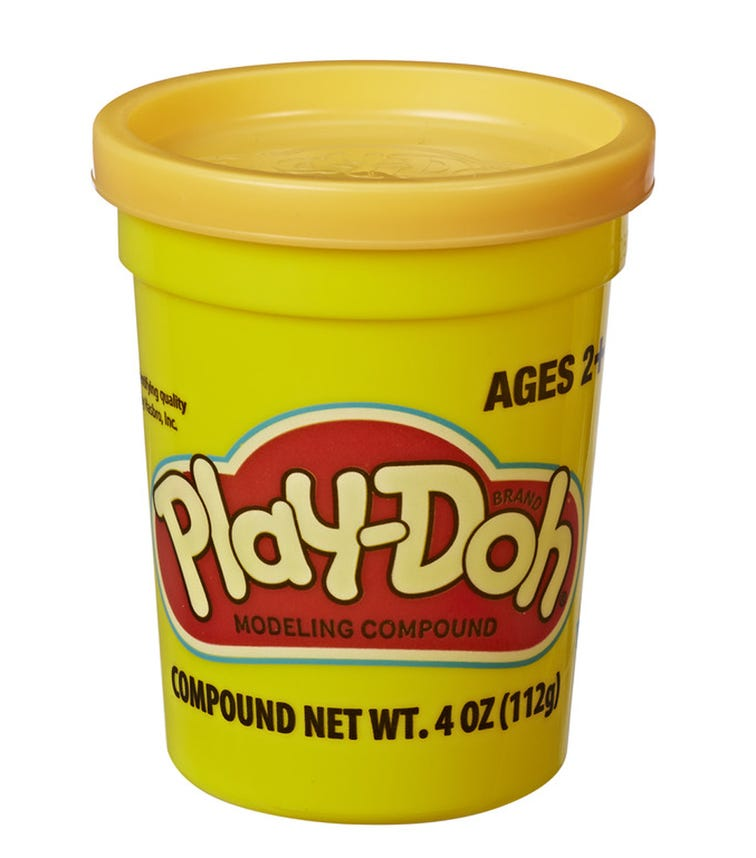 PLAY-DOH Single Can - Yellow