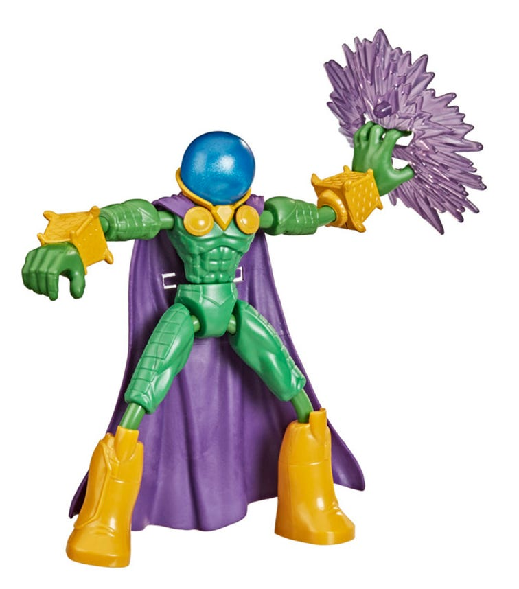 SPIDERMAN Bend And Flex Marvels Mysterio