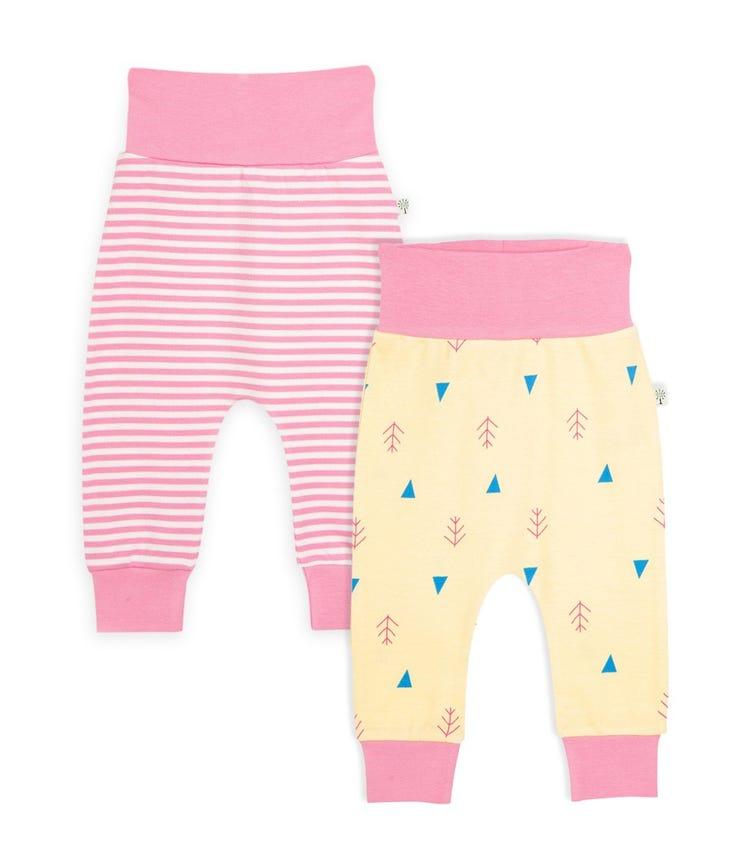 ORGANIC KID Harem Baby Pants - Set of 2