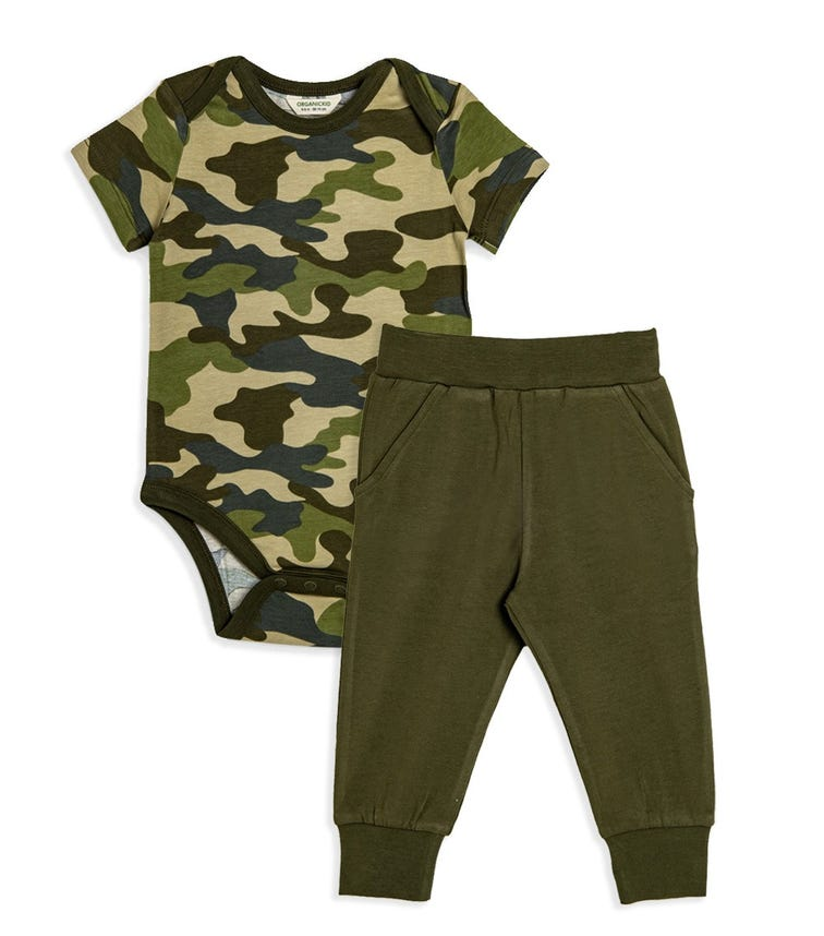 ORGANIC KID 2-Piece Set - Bodysuit And Pant
