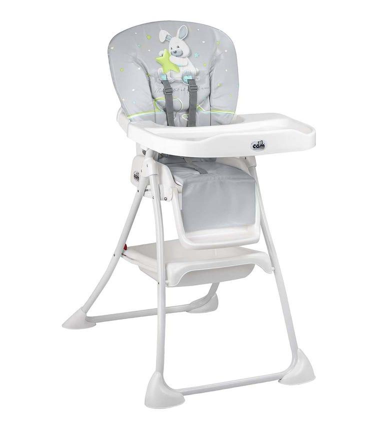 CAM - Mini Plus High Chair - Grey