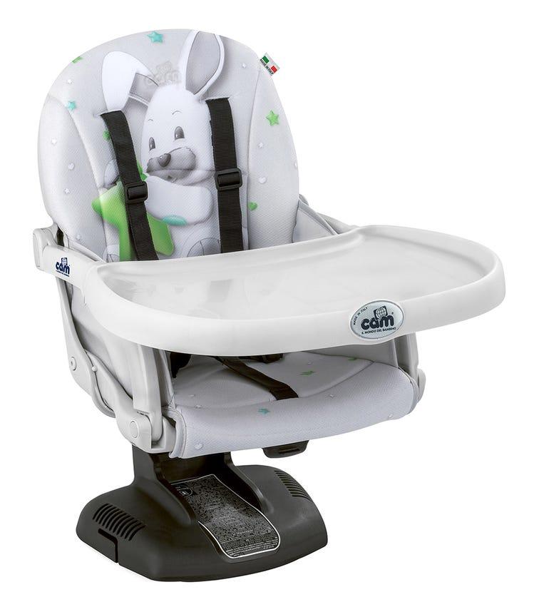 CAM - Idea Booster Feeding Chair - Grey Rabbit