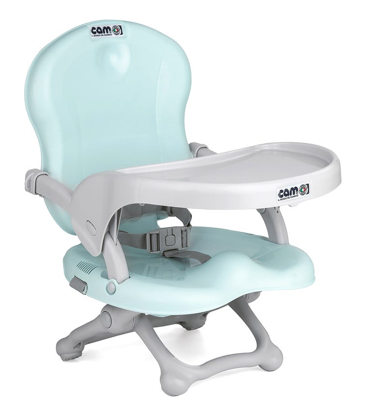 CAM Smarty Booster Feeding Chair - Light Blue