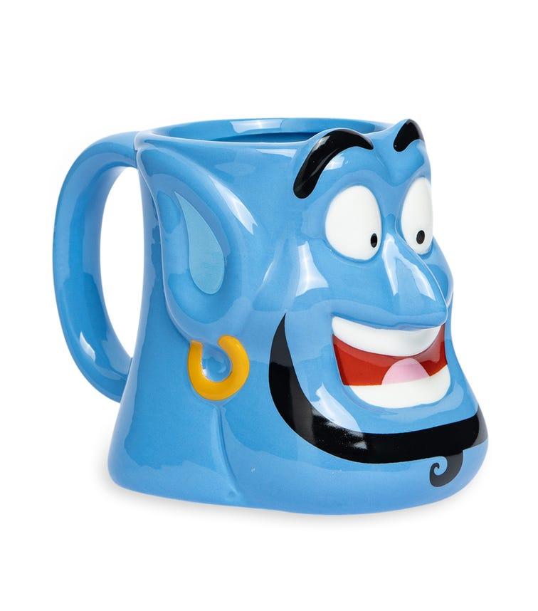 DISNEY Ceramic Dolomite 3D-Head Mug - Genie 354 ML