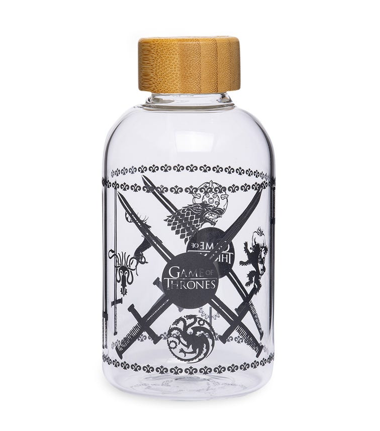 GAME OF THRONES Small Glass Bottle 620 ML