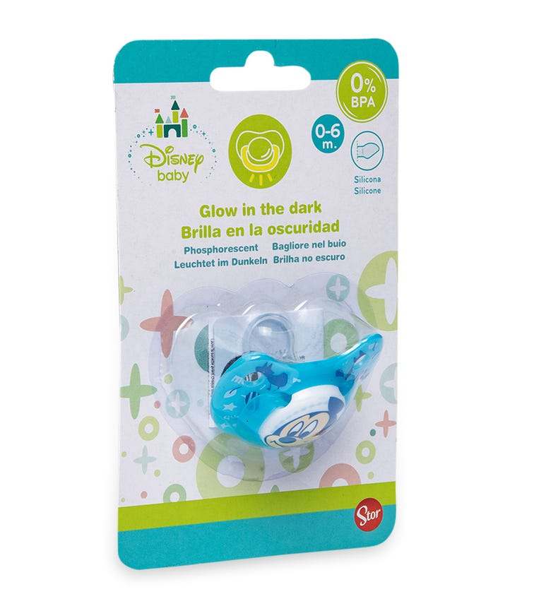 MICKEY Baby Orthodontic Silicone Pacifier (0-6M)
