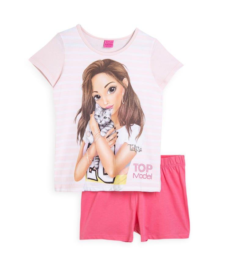 PUTTMANN Short Sleeve Printed T-Shirt & Shorts Set - Top Model
