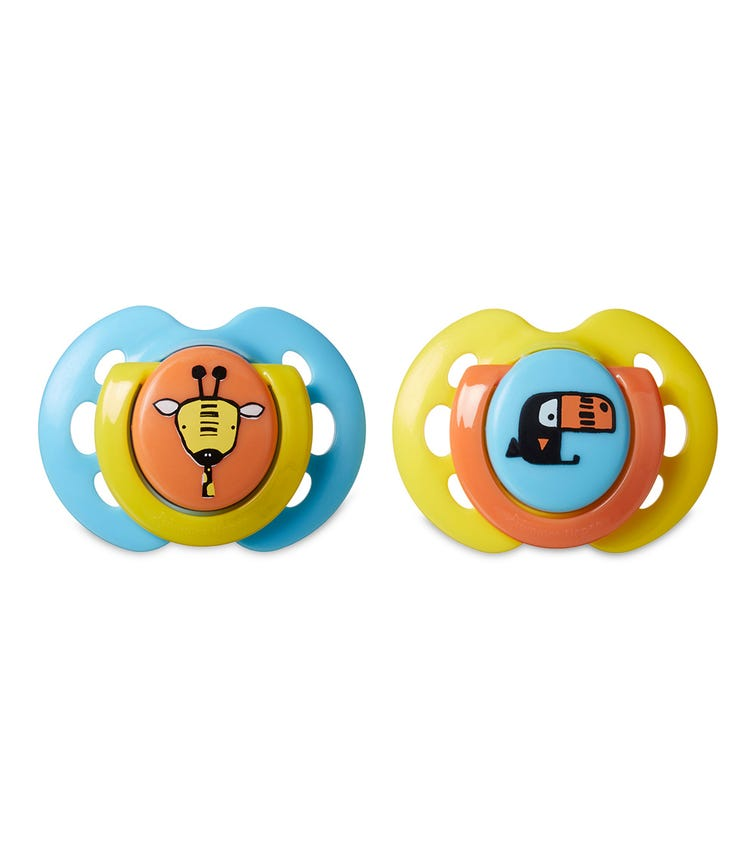 TOMMEE TIPPEE Fun Style Soother (Pack Of 2) Assorted