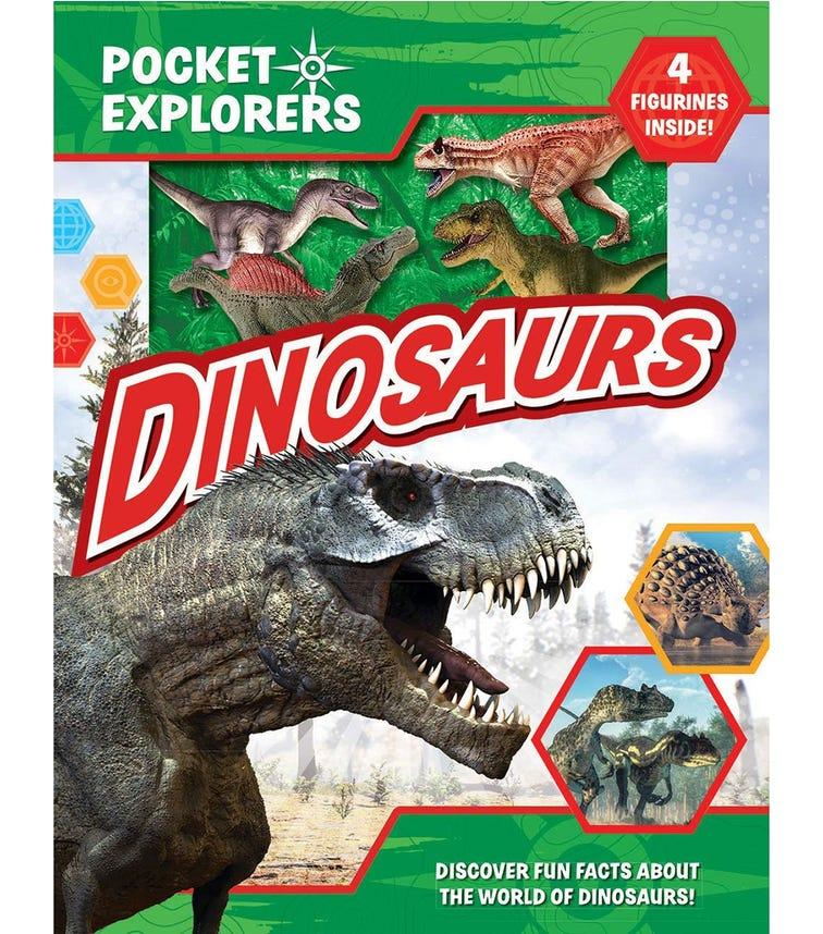 PHIDAL Dinosaurs Pocket Explorers