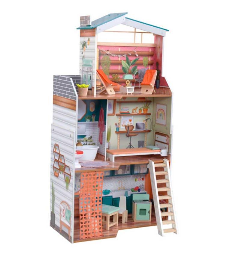 KIDKRAFT Marlow Dollhouse With EZ Kraft Assembly