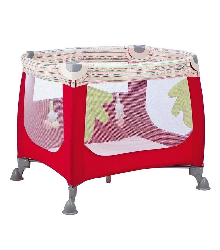 SAFETY 1st Zoom Travel Cot Red Dot