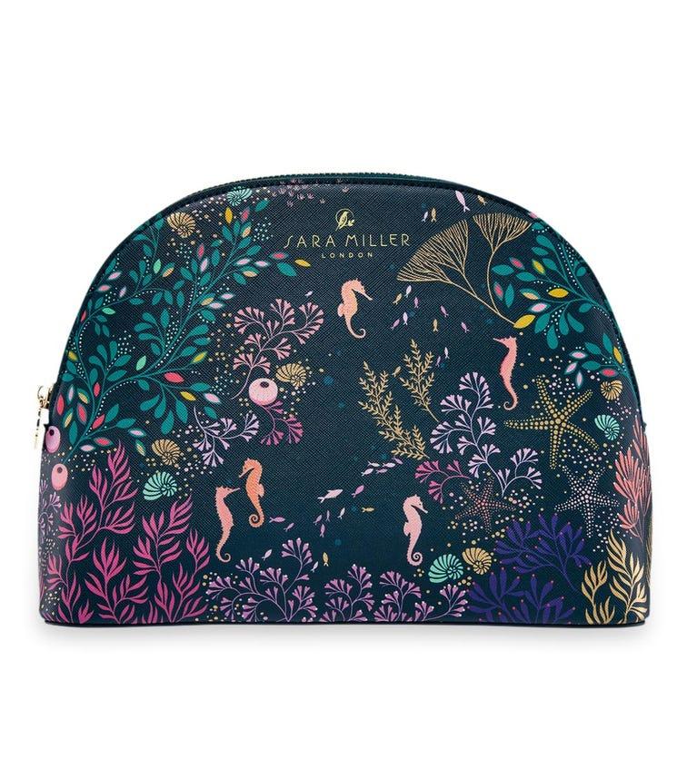SARA MILLER London Underwater Spa Large Cosmetic Bag - Teal