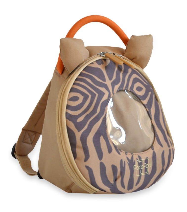 PACAPOD Toddler Pod - Pewter Zebra