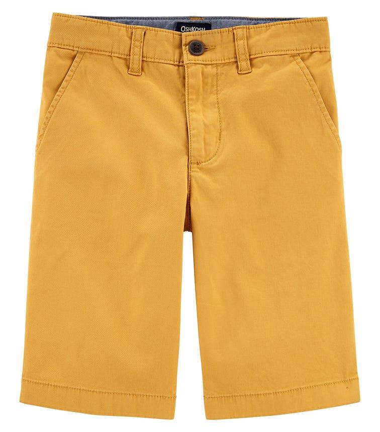 OSHKOSH Golden Tan Stretch Chino Shorts