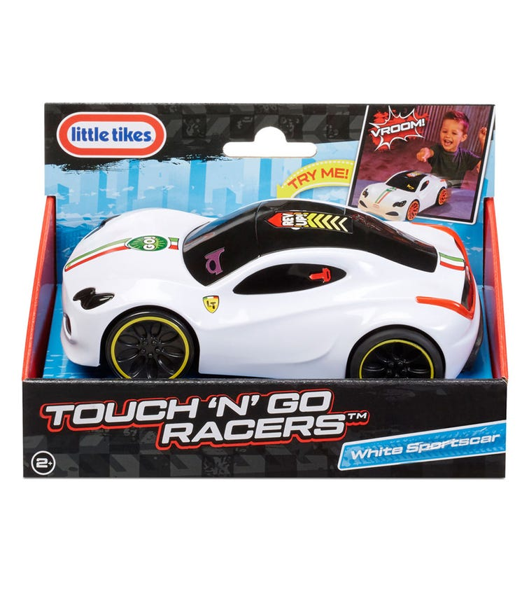 LITTLE TIKES Touch n' Go Racers Sport Car - White