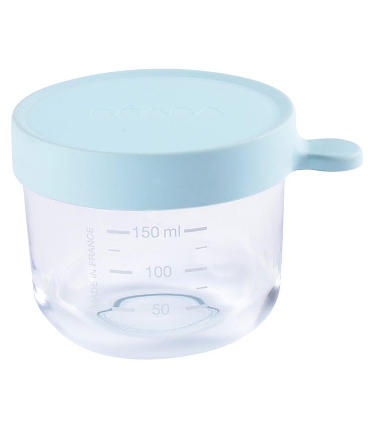 BEABA Conservation Jar Glass 150 ML - Light Blue