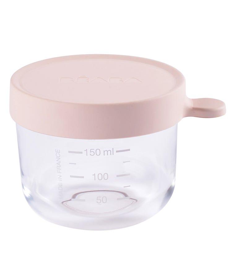 BEABA Conservation Jar Glass 150 ML - Pink