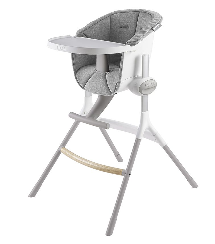 BEABA Highchair Up & Down - Textile Seat