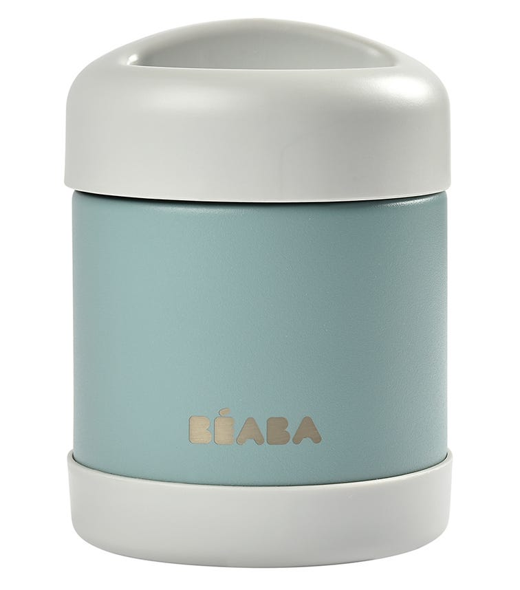 BEABA Thermo-Portion 300 ML - Blue On Grey