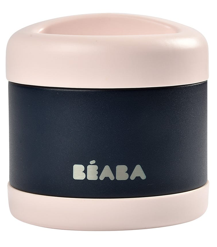 BEABA Thermo-Portion 500 ML - Navy On Pink