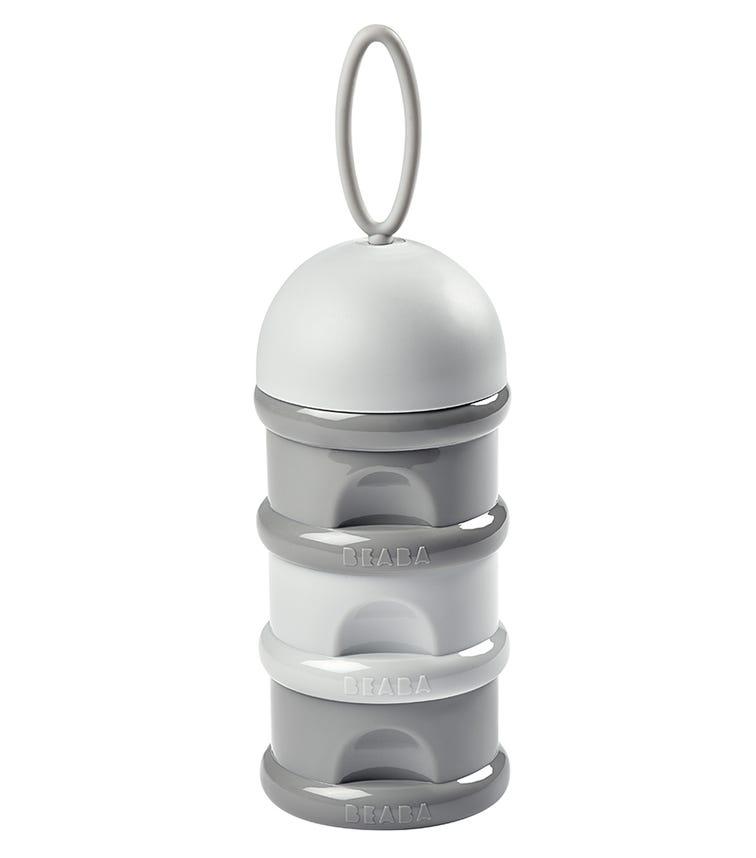 BEABA Stacked Formula Milk Container - Grey Hues 270 ML