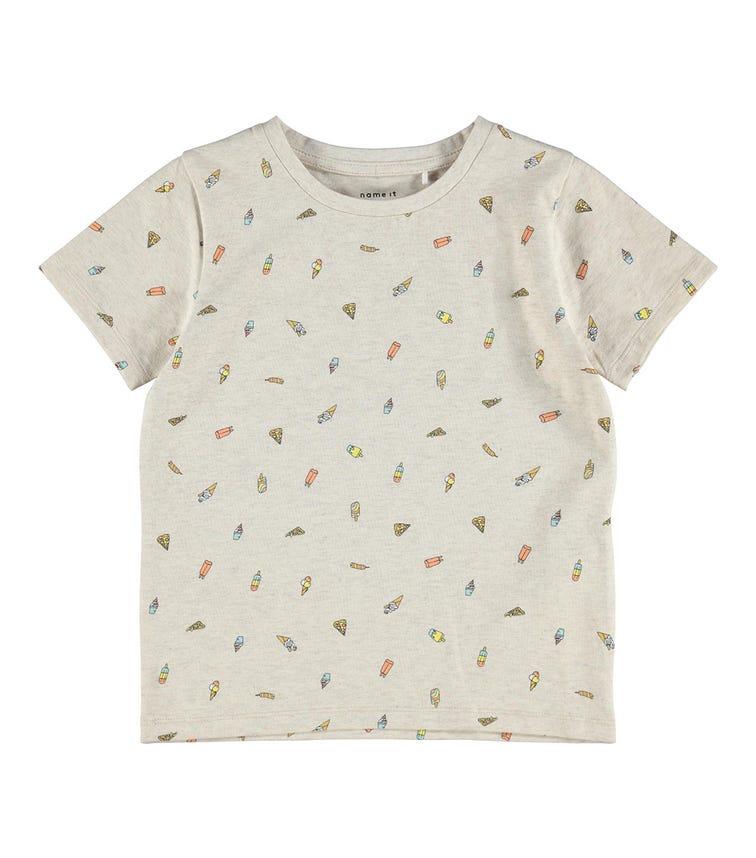 NAME IT Ice Cream Print T-Shirt