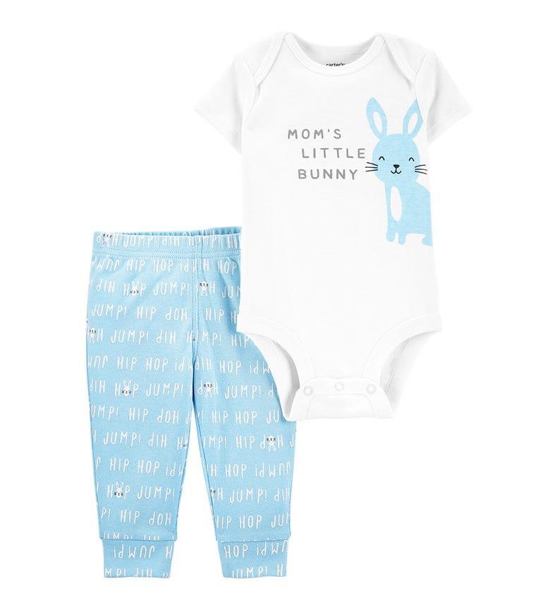 CARTER'S 2-Piece Bunny Bodysuit Pant Set