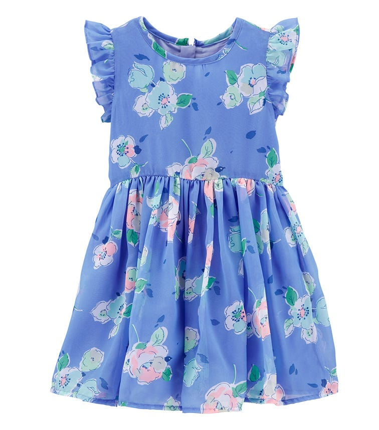 OSHKOSH Blue Floral Dress