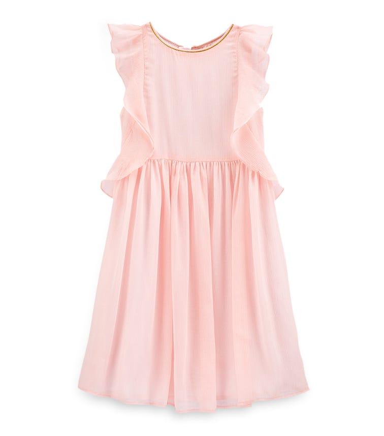 OSHKOSH Ruffle Chiffon Dress