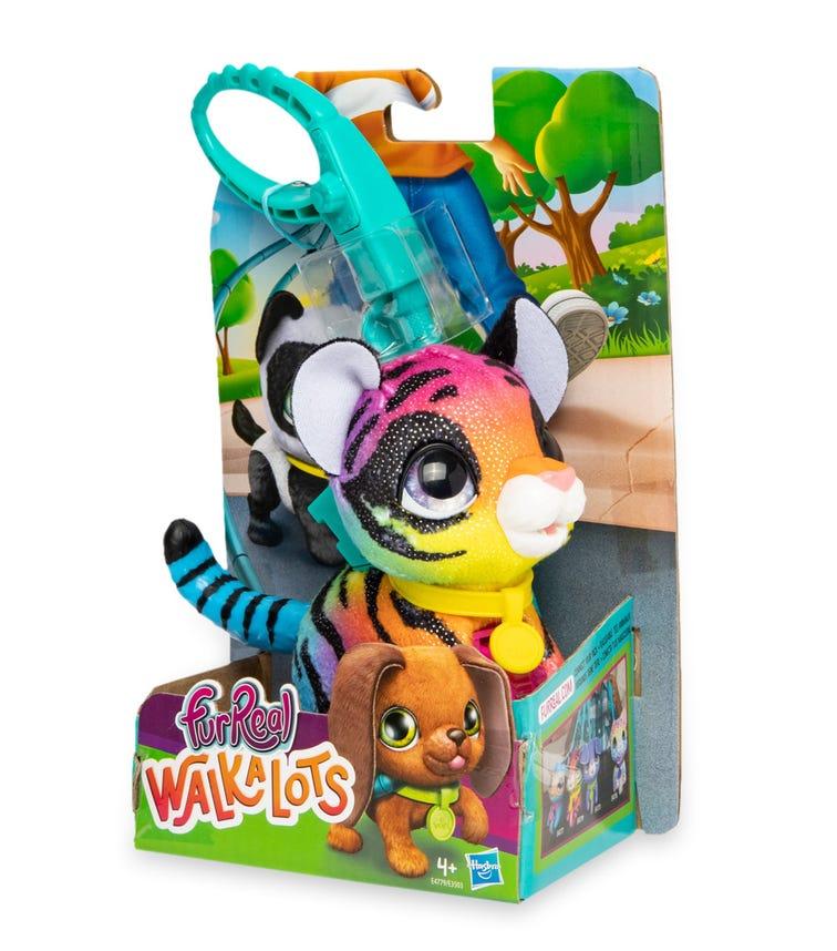 FURREAL Walk-A-Lots Lil Wags - Rainbow Tiger
