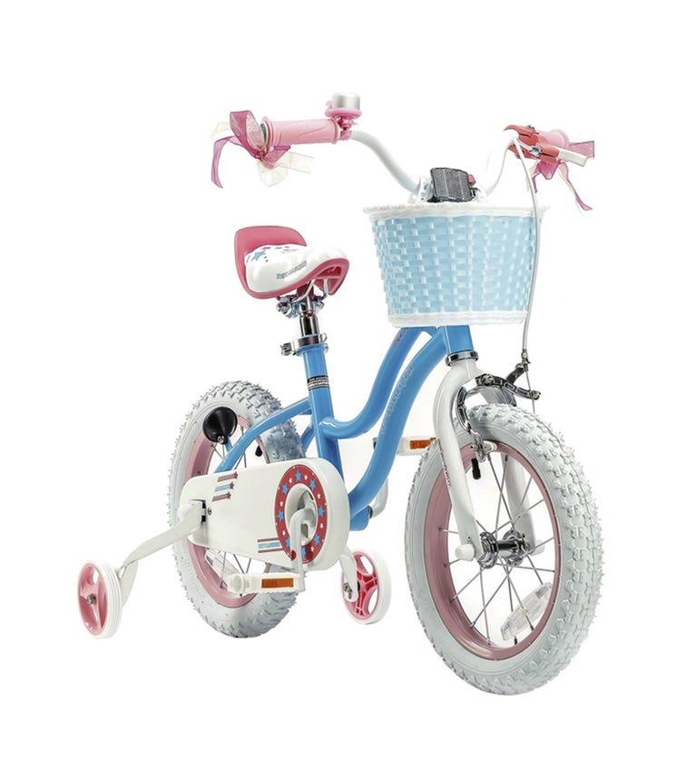 ROYAL BABY 14 Star Girl Bicycle - Blue