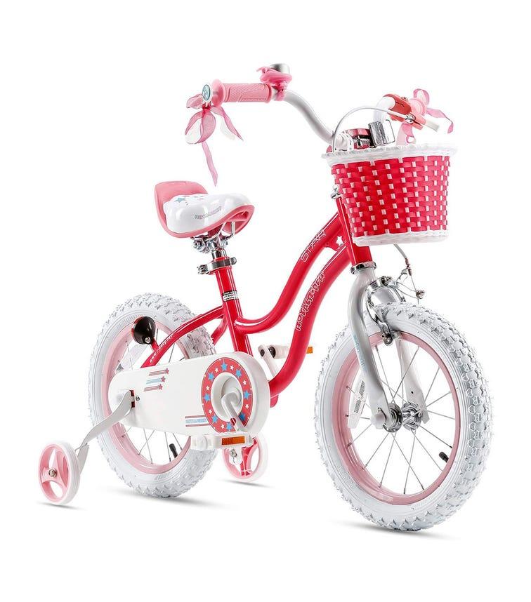 ROYAL BABY 16 Star Girl Bicycle - Pink